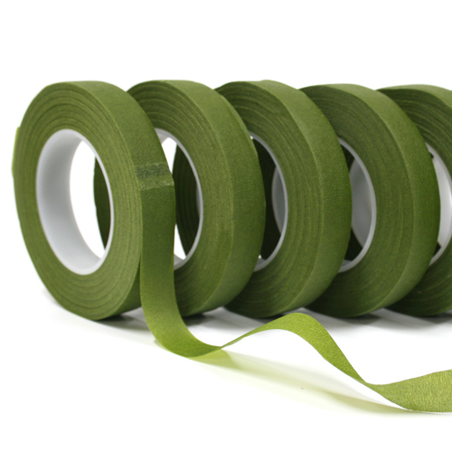 Green Floral Tape Size 1 2 Quot X 30 Yds Packed In 12 Rolls