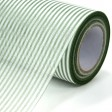 Non Woven Roll - Stripe Wrapper.  Color #140 - Green