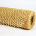 Decor Net - I.T. Mesh - Color #02 - Gold.  Specification:  68cm x 10 yds roll.