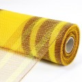 Imitation Net - Color #16-04 - Brown/Yellow.  Specification:  54cm x 10 yds roll.