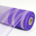 Imitation Net - Color #17-01 - Dk. Purple/White.  Specification:  54cm x 10 yds roll.