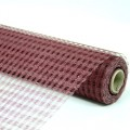 Decor Net - Polo Mesh - Color #01 - Burgundy.  Specification:  53cm x 10 yds roll.