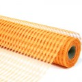 Decor Net - Polo Mesh - Color #04 - Orange.  Specification:  53cm x 10 yds roll.