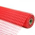 Decor Net - Polo Mesh - Color #07 - Red.  Specification:  53cm x 10 yds roll.