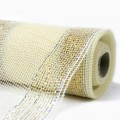 Ribbon Mesh - Color #02 - Ivory.  Specification:  54cm x 10 yds roll.