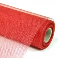 Decor Net - Royale Net.  Color #10 - Red.  Specification: 53cm x 10 yds roll.