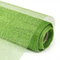 Decor Net - Royale Net.  Color #06 - Lime Green.  Specification: 53cm x 10 yds roll.