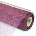 Decor Net - Royale Net.  Color #09 - Purple.  Specification: 53cm x 10 yds roll.