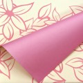 Eco-Trend - Bi-Color Floral Print.  Color # 8210 - Pink-Pink.  Available in 7 Colors.  Size:  60cm x 78cm.