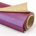 Magic Ribbed Paper - Color#156 Purple.  Size:  53cm x 78cm (Water Resistance) 70gm. 10's Roll