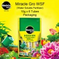 MG - WSF (Water Soluble Fertilizer) - All Purpose.  6 Tubes x 10g