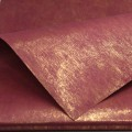Non-Woven Bronzing Wrap.  Color: #18 - Maroon.  Size:  80cm x 60cm.  Pack in 20's per polybag.  Available in 6 Colors
