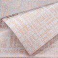 Trendy Wrap - Newsprint.  Color  #12 - Cream.  Available in 8 Colors.  Size:  60cm x 80cm. Pack in 20's per Polybag