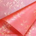 Trendy Wrap - Vine Design.  Color  #32 - Red.  Available in 3 Colors.  Size:  60cm x 80cm. Pack in 20's per Polybag