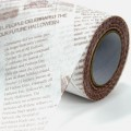 Non Woven Roll - Newsprint.  Color: #173-3 - Brown