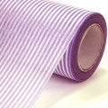Non Woven Roll - Stripe Wrapper.  Color #142 - Purple