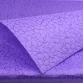 Non-Woven Vel-Tex (Cracked Ice) Flower Wrap.  Color: #23 - Dk. Purple.  Size:  80cm x 60cm.  Pack in 20's per polybag.  Available in 11 Colors