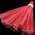 Wave Organza Roll - Color #25 - Maroon.  Size:  47cm x 2m