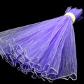 Wave Organza Roll - Color #26 - Lt. Purple.  Size:  47cm x 2m