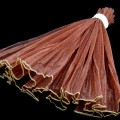 Wave Organza Roll - Color #52 - Brown.  Size:  47cm x 2m