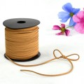 Leather Tie - Color #25 - Coffee (2.6mm x 100 yds Roll).  Available in 12 Colors.