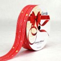 PP Ribbon - Fiorenzo™ (Centimo Design).  Color #2PT121-1  -  Red.  Length: 30mm x 50yds Roll