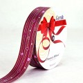 PP Ribbon - Fiorenzo™ (Centimo Design).  Color #2PT121-5  - Maroon.  Length: 30mm x 50yds Roll