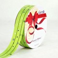 PP Ribbon - Fiorenzo™ (Centimo Design).  Color #2PT121-8 - Lime Green.  Length: 30mm x 50yds Roll