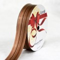 PP Ribbon - Fiorenzo™ (Platino Design).  Color #2PL105-6 - Brown.  Length: 30mm x 50yds Roll