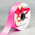 PP Ribbon - Fiorenzo™ Plain Color #S58 - Shocking Pink.  Length: 38mm x 100yds Roll