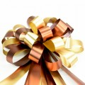 Pull Bow Ribbon - Color #04 Bronze / Gold.  30mm x 1100mm.  Available in 8 Colors.
