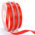 Polyester Satin Ribbon - 9mm.  Color #235 - Poppy Red.  Length:  20 Yds Spool.
