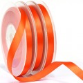 Polyester Satin Ribbon - 9mm.  Color #761 - Autumn Orange.  Length:  20 Yds Spool.