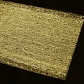 Silk Wrap Flower Wrapper - Color #88 - Gold.  Size: 70cm x 70cm