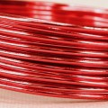 Aluminium Wire - Color:  Red (2mm x 5m Length).