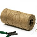 Bindwire - Paper Covered Wire.  Color - Natural.  Specification: 1.0mm diameter thickness